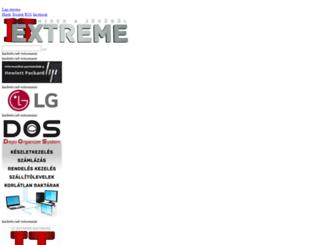 itextreme.hu screenshot