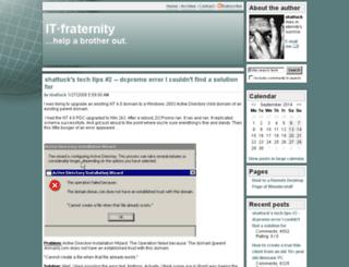 itfraternity.com screenshot