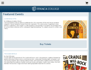 ithaca.ticketforce.com screenshot