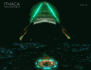 ithacaaudio.com screenshot