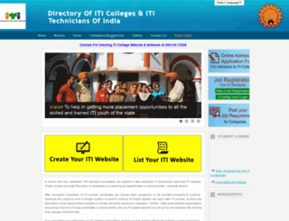 iticolleges.com screenshot