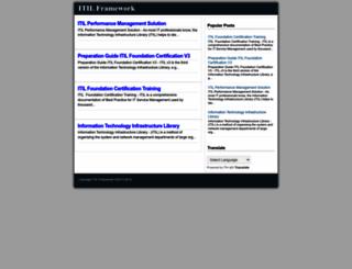 itil-news-framework.blogspot.com screenshot