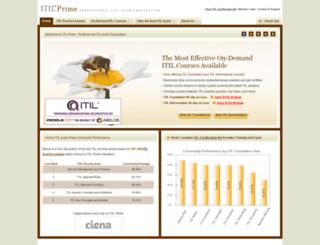 itilprime.com screenshot