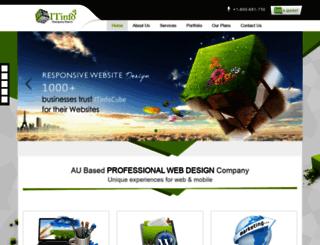 itinfocube.com.au screenshot