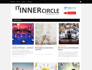 itinnercircle.com screenshot
