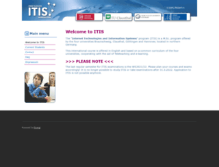 itis-graduateschool.de screenshot