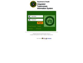 itis.doh.gov.ph screenshot