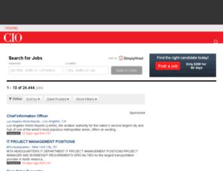 itjobs.cio.com screenshot