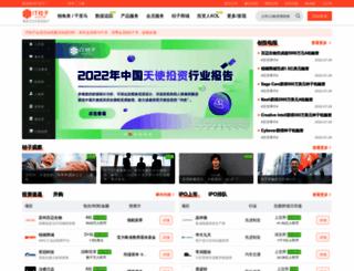 itjuzi.com screenshot