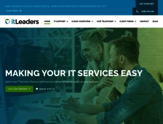 itleaders.com.au screenshot