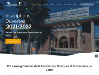 itlearning-settat.com screenshot