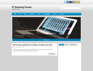 itlearninghouse.blogspot.com screenshot