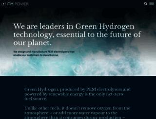 itm-power.com screenshot