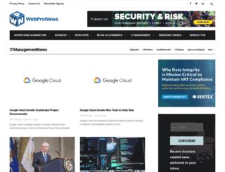 itmanagementnews.com screenshot