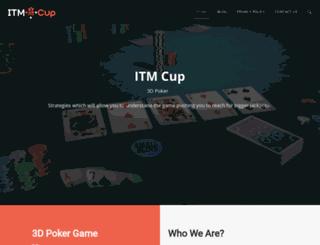 itmcup.co.nz screenshot
