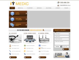 itmedic.com.au screenshot