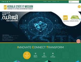 itmission.kerala.gov.in screenshot