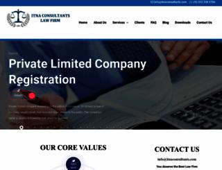itnaconsultants.com screenshot