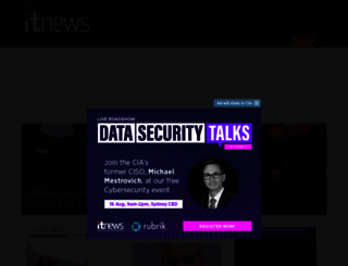 itnews.com.au screenshot