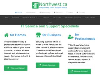 itnorthwest.ca screenshot