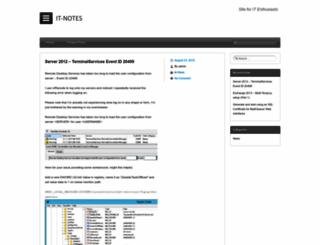 itnotes.eu screenshot