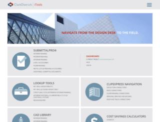 itools.clarkdietrich.com screenshot