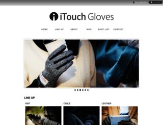 itouchgloves.jp screenshot