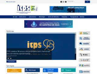 itps.se.gov.br screenshot