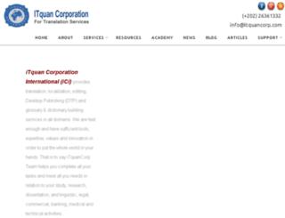 itquancorp.com screenshot