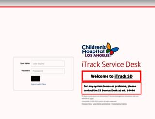 itrack-chla-sd.saasit.com screenshot