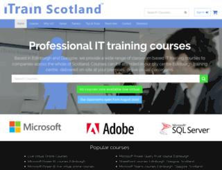 itrainscotland.co.uk screenshot