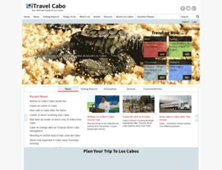 itravel-cabo.com screenshot