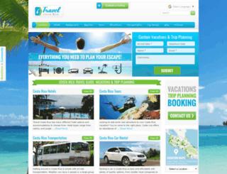 itravelcostarica.com screenshot
