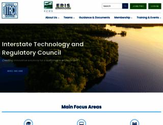 itrcweb.org screenshot