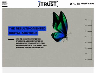 itrust.gr screenshot