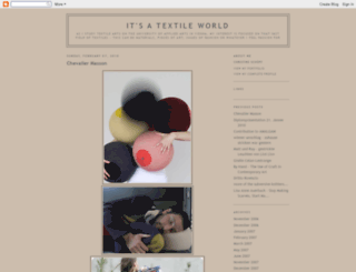 its-a-textile-world.blogspot.co.uk screenshot