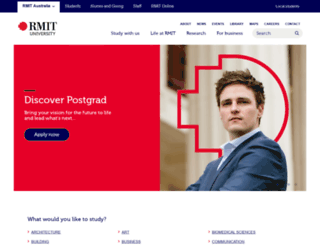its.rmit.edu.au screenshot
