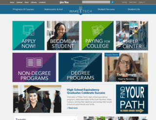 its.waketech.edu screenshot