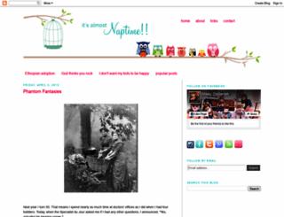 itsalmostnaptime.blogspot.com screenshot