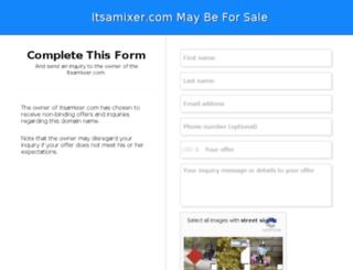 itsamixer.com screenshot