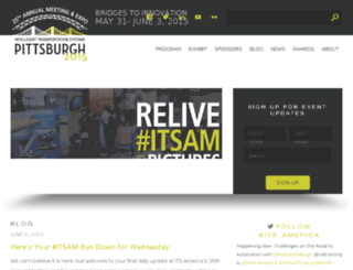 itsannualmeeting.org screenshot
