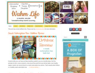 itsawahmlife.com screenshot