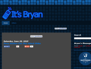 itsbryan.blogspot.com screenshot