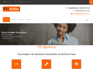 itsburkina.com screenshot