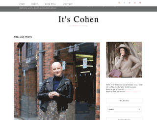 itscohen.blogspot.com screenshot