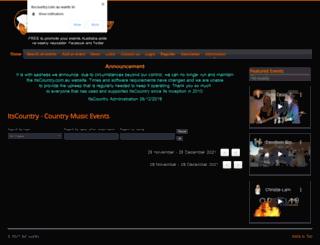 itscountry.com.au screenshot