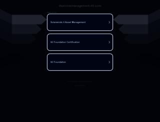 itservicemanagement-itil.com screenshot