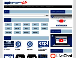 itservices.ecpi.edu screenshot