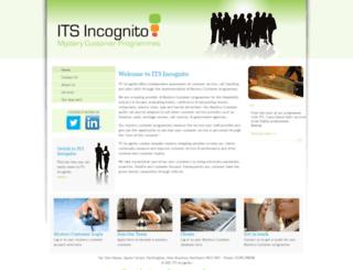 itsincognito.com screenshot