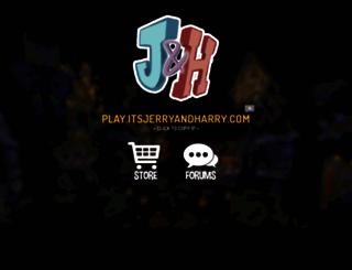 itsjerryandharry.com screenshot